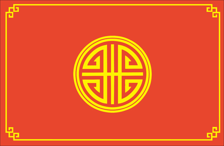 chinese feng shui symbol Vector