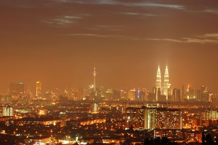 klcc: Kuala Lumpur malaysia Stock Photo