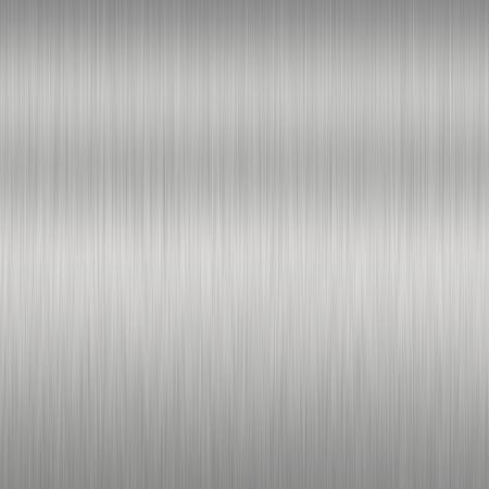 Shiny Brushed Steel. Texture or background Stock Photo - 3677007