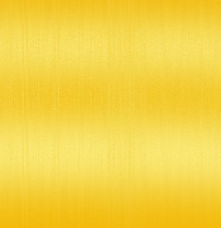Golden Shiny Brushed Steel. Texture or background Stock Photo - 3795026