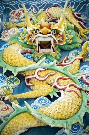 Chinese Feng Shui dragon photo