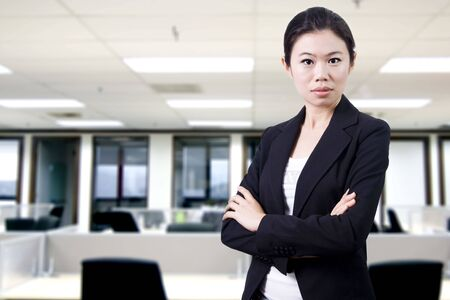 Confident Asian Business/Educational women Stock Photo - 4090775