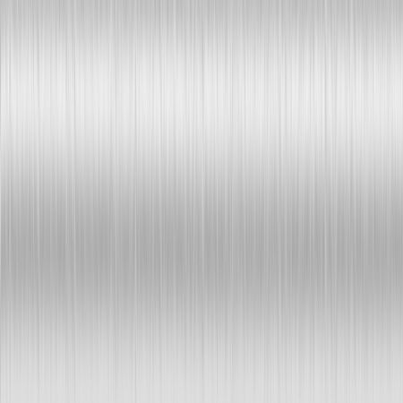 Shiny Brushed Steel. Texture or background Stock Photo - 4280608