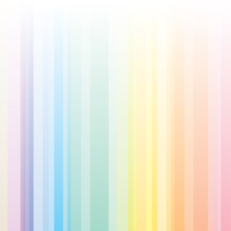 Seamless harmony stripes pattern with rainbow colors, ideal for a background. Illustration