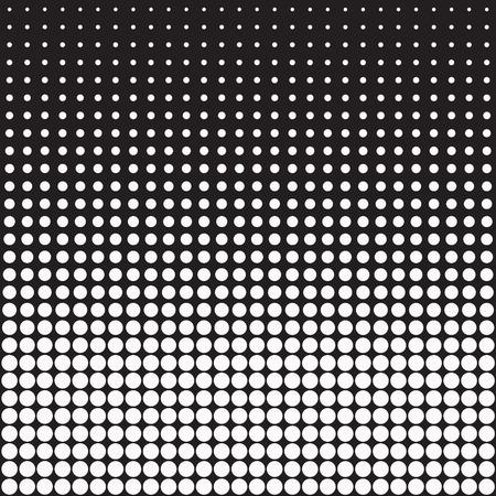 Vektor-Punkte für die Hintergründe und Design Vektorgrafik