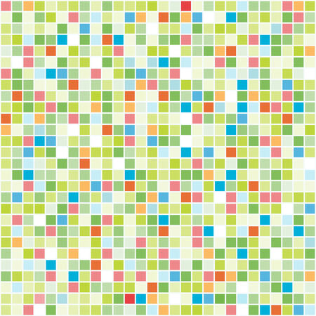 Vector Seamless Colorful Tiles Background. Stock Vector - 5232083