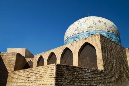 sheikh: Sheikh Lotf Allah Mosque at Naghsh-i Jahan Square, Isfahan, Iran.