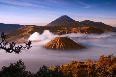 java: Mount Bromo volcanoes taken in Tengger Caldera, East Java, Indonesia.
