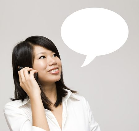 cotizacion: Chica tener un di�logo de hablar.