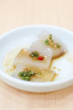 contorni: Gelatina di Konjac � cibo coreano contorni