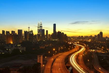 Kuala Lumpur ist die Hauptstadt von Malaysia.