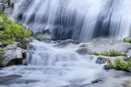 kelantan: Natural waterfall at Gunung Stong State Park, Kelantan, Malaysia Stock Photo