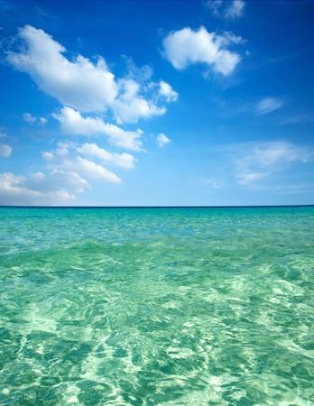redang: Blue water at Island Perhentian Kecil, Malaysia