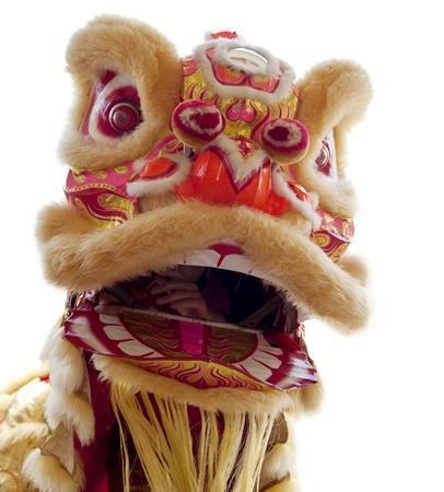 Chinese New Year Lion Dance Stock Photo - 9898876
