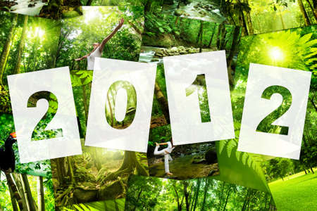 belongs: 2012 Nature Concept Calender Cover, all image belongs to me Stock Photo