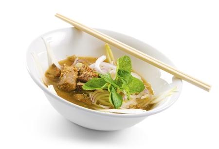 laksa: Famous Malaysian Spicy Soup Noodles, Penag Asam laksa