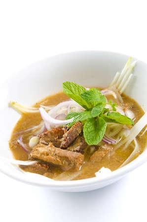laksa: Delicious Famous Malaysian Spicy Soup Noodles, Asam laksa