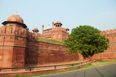 new delhi: India, Delhi, the Red Fort, it was built by Shahjahan as the Delhi citadel of the 17th Century