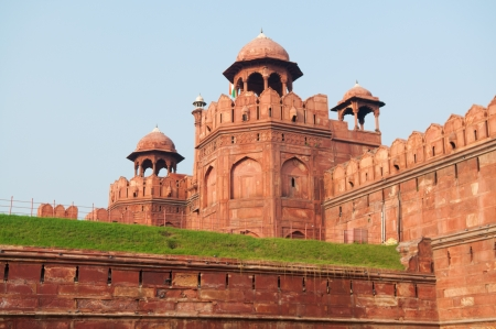 new delhi: Red fort, Delhi, India Stock Photo