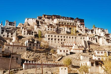 gelugpa: Thikse Monastery, the Tibetan Buddhist monastery of the Yellow Hat Gelugpa. Ladakh, India