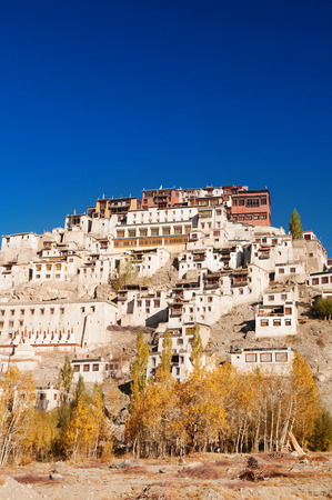 ladakh: Thiksey Monastery in Leh Ladakh, Northern India.