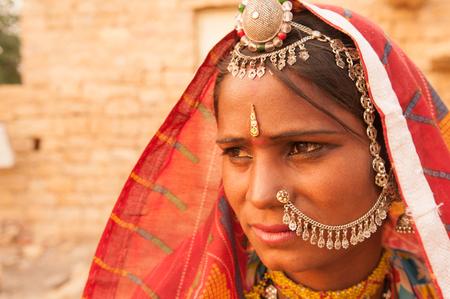 rajasthani: Portrait of an India Rajasthani woman