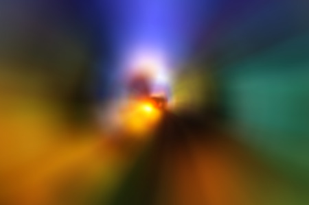 Colorful motion blurred background. Stock Photo