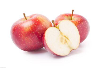 pommes: Deux pommes