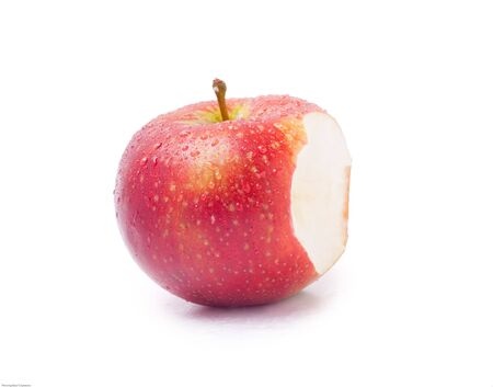 Bitten apple Фото со стока