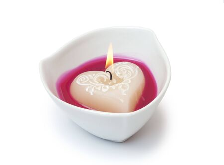lit image: Burning candle