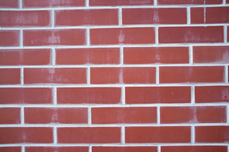 Old Weathered Tile Contractors with Look of Red Brick Wall Texture