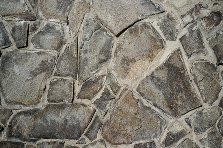Old Weathered Tile Contractors with Look of Natural Stone Wall Texture