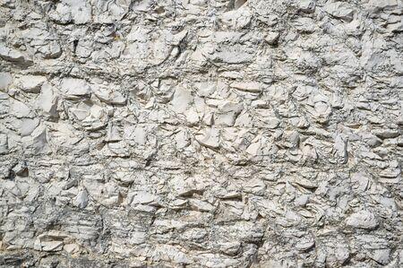 Detail of Coarse Istrian White Stone in City of Vrsar Reklamní fotografie