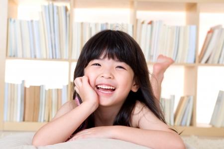 Portrait of lovely asian girl