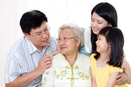 Asian family Stock Photo - 20275825