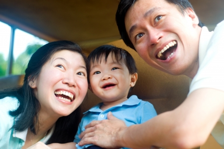 asian toddler: Happiness Stock Photo