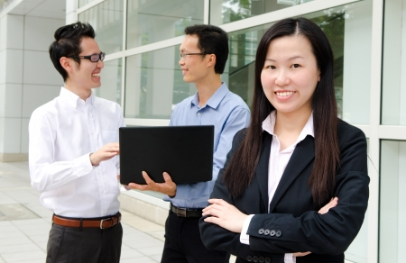 Asian business peoples  photo