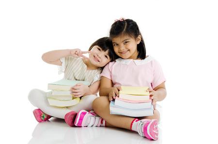 intelligently: Child education Stock Photo