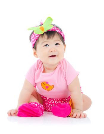 Cute asian baby