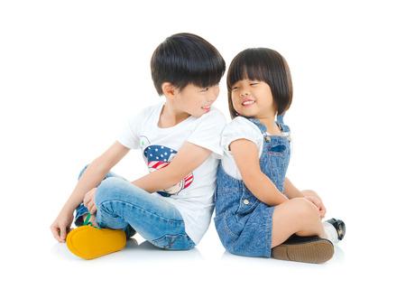 Asian kids Standard-Bild