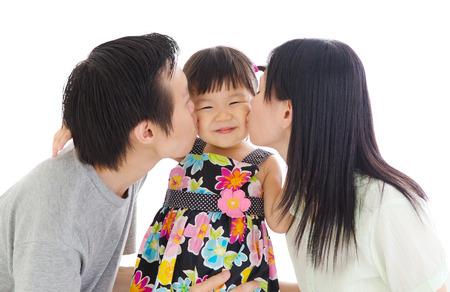 kid portrait: kiss