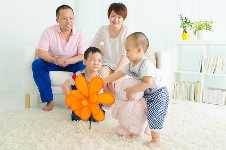 living room boy: Family life