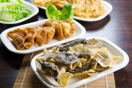 chinesisch essen: Chinesischen Stil frittierte Lebensmittel
