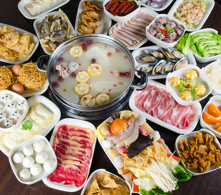 steamboat: Chinese style steamboat foods