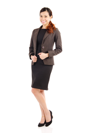 woman in office: Portrait of a confident asian businesswoman Stock Photo