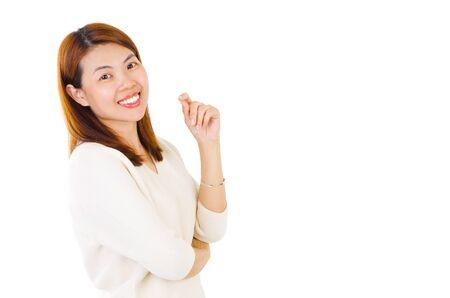 Portrait of a 40s asian woman