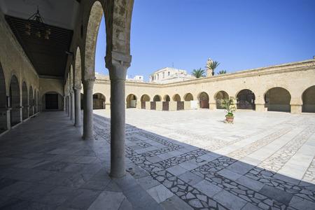 Courtyard of Grande Mosque, Sousse, Tunisia