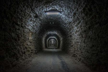 Underground theme park in salt mine Salina Turda