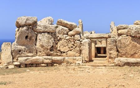 Mnajdra, Malta Stok Fotoğraf