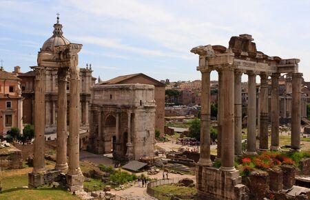 obelisc: Forum Romanum Stock Photo